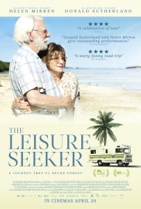 The Leisure Seeker (1 hr 50 mins) @ Seahouses Hub