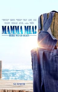 Belford Community Cinema presents a 1970's Christmas Party Screening of Mama Mia Here we go again @ Ferguson Hall