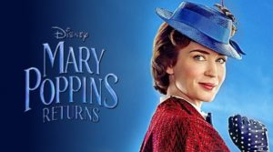 Mary Poppins Returns (PG) 2 hrs 10 mins @ The Hub, Seahouses Sports & Community Centre