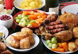 Christmas Day Lunch @ St Paul's Hostel Hall