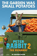 Peter Rabbit 2 - POSTPONED.  ANY TICKETS PURCASED FOR 3PM OR 6PM SCREENINGWILL BE REFUNDED OR SWAPPED AT THE HUB @ The Hub, Seahouses Sports & Community Centre